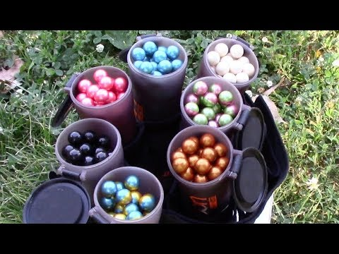 Testing and Shooting DEFY Paintballs – D3FY Review