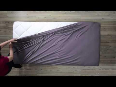 Erwin Müller Wie überziehe ich ein Spannbettlaken Produktvideo