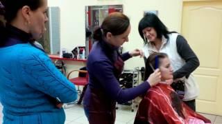 Курсы парикмахер практика