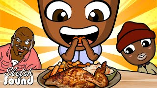 DAVE CHAPPELLE ANIMATED! - WHY BLACK PEOPLE LOVE CHICKEN!
