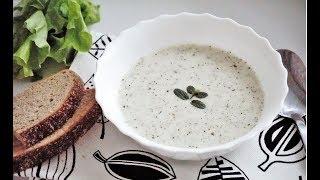 Йогуртовый суп с рисом и мятой. Турецкая кухня/Yogurt corbasi tarifi