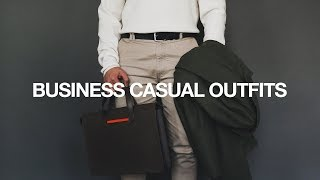 5 Business Casual Outfits / Modern + Easy To Style