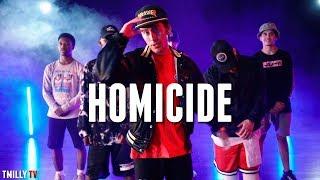 Logic   HOMICIDE Ft Eminem   Dance Choreography By Julian DeGuzman