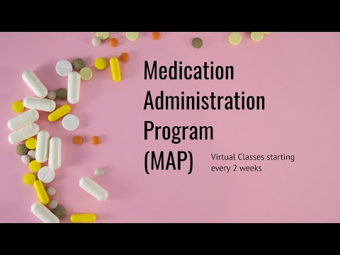 MAP (Medication Administration Program) Transcription - Virtual class starting soon!