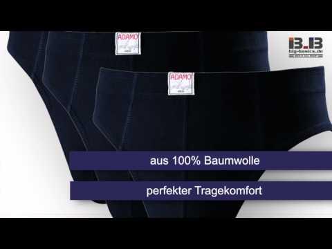 3er Pack Herrenslip IAN von Adamo in Übergrößen bis 18 bei Adamo-Shop.de