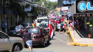 preview picture of video 'Quepos Costa Rica - World Cup 2014 celebration'