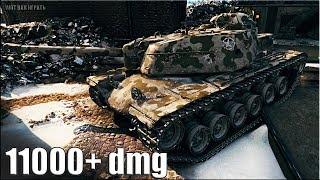 Бой на Т110Е4 пт ДАМАГЕР 🌟 ЛБЗ пт-15 на Об. 260 🌟 World of Tanks лучший бой пт 10 уровень