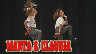 Hip Hop |Marta & Claudia in NO BRAKES | 1st place mini parejas
