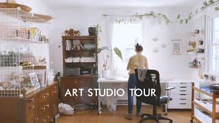 Art Studio Tour | Creative Workspace Tour