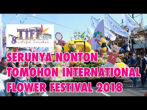 [Video] Festival Bunga di Tomohon 2018