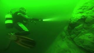 preview picture of video 'Nantua Diving - GoPro Test'
