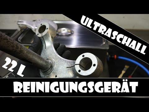 Ultraschall Reinigungsgerät | Teilereinigung im Ultraschallbad | Motorradteile reinigen