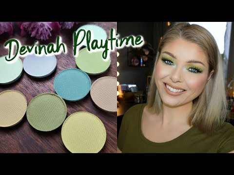 Devinah Kiss Me Clover Green Collection | GRWM