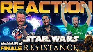 "Star Wars Resistance Series Finale REACTION!! ""The Escape"""