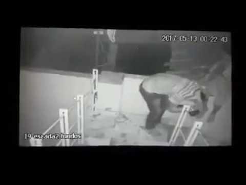 Polícia divulga vídeo de arrombamento contra loja de eletroeletrônicos em Quixeramobim