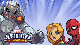 Marvel Super Hero Adventures: First Day of School (Part 2) | Marvel Read!