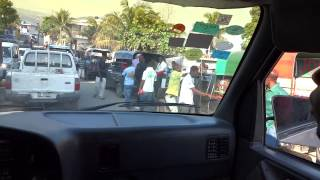 preview picture of video 'Driving through Port au Prince 2'