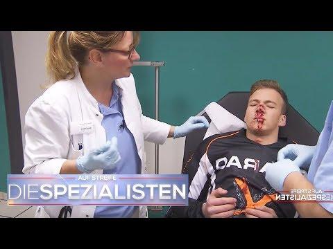 Kampf mit Hockeyschläger: Bruder wird blutig geschlagen! | Birgit Maas | Die Spezialisten | SAT.1 TV