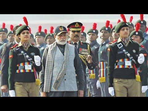 एनसीसी कैडेट के बीच पीएम मोदी Live |PM Modi addresses NCC Rally in New Delhi