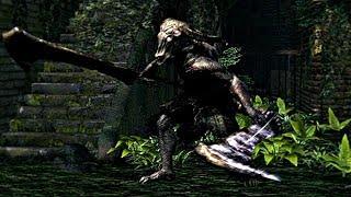 Dark Souls Remastered - Capra Demon Boss Fight (1080p 60fps) PS4 PRO