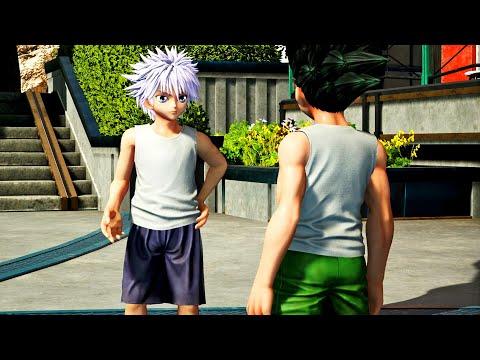 أخيرا إجتمع غون مع كيلوا في لعبة جامب فورس | Jump Force Killua