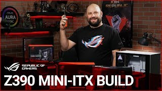 How to Build a #Z390 Gaming PC feat. the #ROG RYUO 240 and #ASUS Turbo #RTX2080