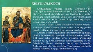 XRISTIAN DINI HAQIDA NIMA BILASIZ?