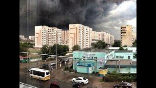 Ураган в г. Семей (14.06.2015)