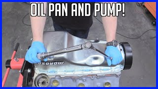 Oil Pump and Pan Replacement