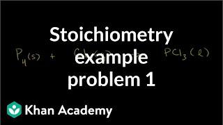 Stoichiometry Example Problem 1