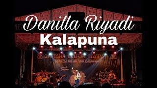 Danilla Riyadi   Kalapuna Live At SMAN 3 Kota Pekalongan
