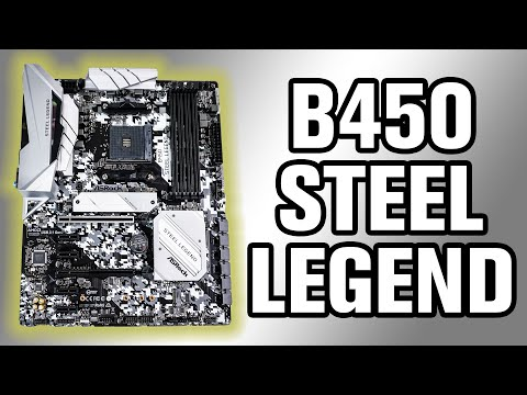 ASRock B450 Steel Legend Motherboard Review
