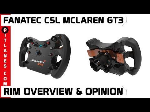 Fanatec l CSL McLaren GT3 l Wheel Rim