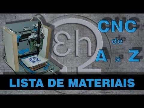 CNC de A a Z - Lista de materiais (eletrônica e software)