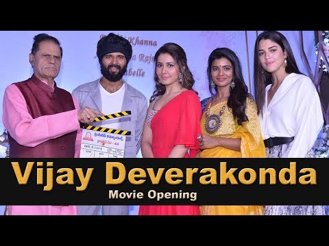 vijay-devarakonda-and-rashi-khanna-new-movie-opening