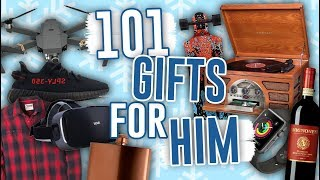 101 GIFTS FOR HIM HELL ACTUALLY WANT! Last Minute Gift Ideas 2017 // Jill Cimorelli