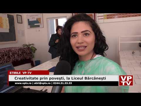Creativitate prin poveşti, la Liceul Bărcăneşti