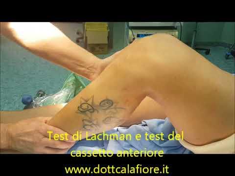 Lesioni del trattamento al ginocchio