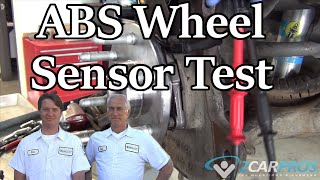 Test Your ABS Wheel Speed Sensor Like a Pro