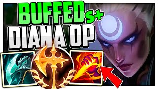 This is what DIANA JUNGLE can do AFTER THE BUFFS!   Diana Jungle Guide Season 11 League of Legends
