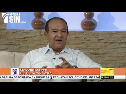 Antonio Marte dice nueva ley de transporte: ojalá no sea un pedazo de papel y sea aplicada - 1/2