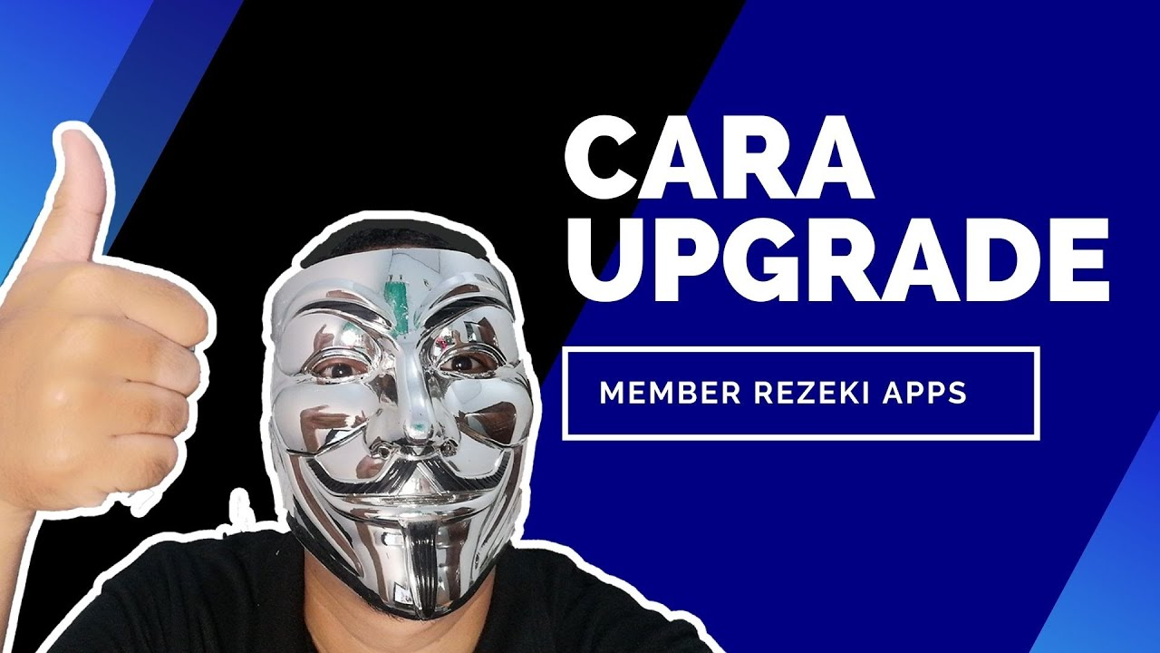 Cara Upgrade VIP Rezeki Apps