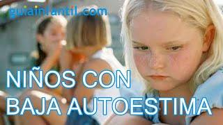 Cómo identificar a un niño con baja autoestima