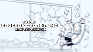 Sans Grocery Store Puns - Undertale Comic Dub