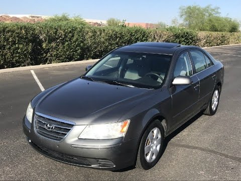 Attractive 2009 Hyundai Sonata GLS Sedan 32 MPG Sunroof   Excellent Condition 09    Inventory | A Lot Of Used Cars LLC | Auto Dealership In Mesa, Arizona