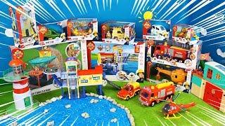 Feuerwehrmann Sam Spielzeug Unboxing: Feuerwehrautos Venus & Jupiter 2.0 zum spielen für Kinder