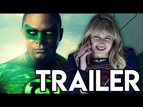 Green Lantern CONFIRMED! Supergirl ATTACKED! - Supergirl 5x04 Trailer Breakdown
