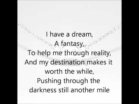 Abba- I Have A Dream Lyrics Mp3