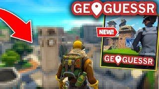 Fortnite GEOGUESSR I bet you CANT Guess these locations..? (Fortnite Battle Royale)