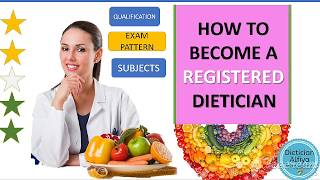 How to become a registered dietitian in india